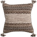 Surya Trenza Pillow - Item Number: TZ002-1818D