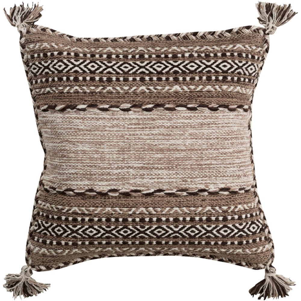 Surya Trenza Pillow - Item Number: TZ002-1818P