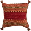 Surya Trenza Pillow - Item Number: TZ003-1818D