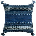 Surya Trenza Pillow - Item Number: TZ004-1818D