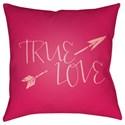 Surya True Love Pillow - Item Number: HEART022-2020