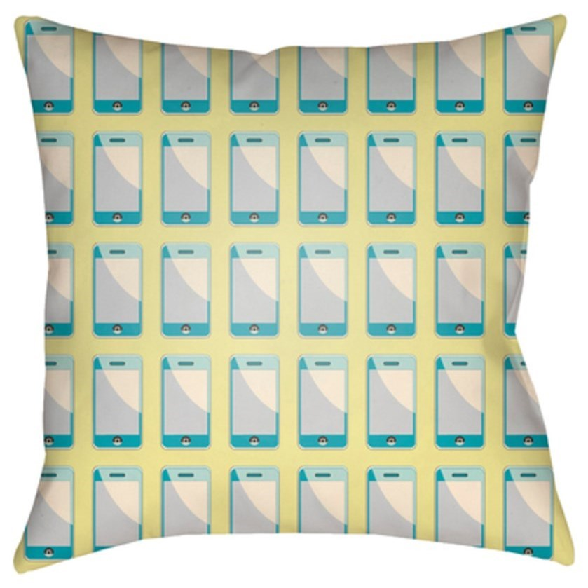 Surya Warhol Pillow - Item Number: WA006-1818