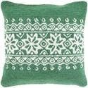 Surya Winter Pillow - Item Number: WIT011-1818P