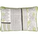 9596 Aba 22 x 22 x 5 Down Throw Pillow - Item Number: ABA001-2222D