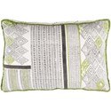 Ruby-Gordon Accents Aba 22 x 22 x 5 Polyester Throw Pillow - Item Number: ABA001-2222P