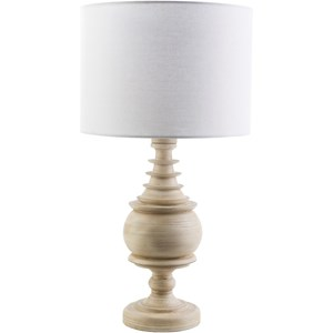 Antique White Coastal Table Lamp