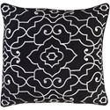 Surya Adagio 20 x 20 x 4 Polyester Throw Pillow - Item Number: AO001-2020P