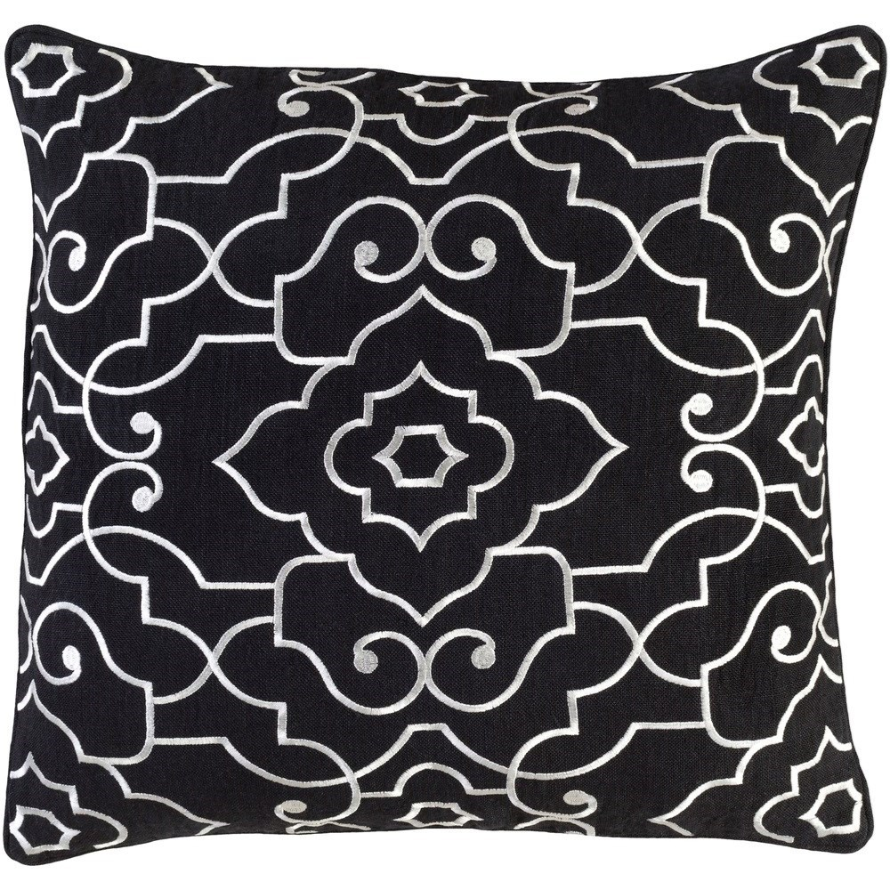 Adagio 22 x 22 x 5 Polyester Throw Pillow by Surya at Houston's Yuma Furniture