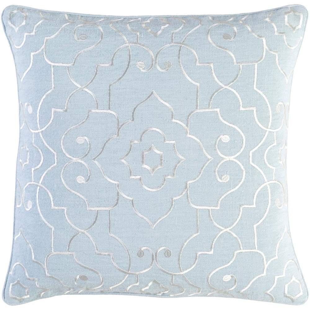 Surya Adagio 22 x 22 x 5 Polyester Throw Pillow - Item Number: AO002-2222P