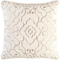 Surya Adagio 18 x 18 x 4 Polyester Throw Pillow - Item Number: AO003-1818P