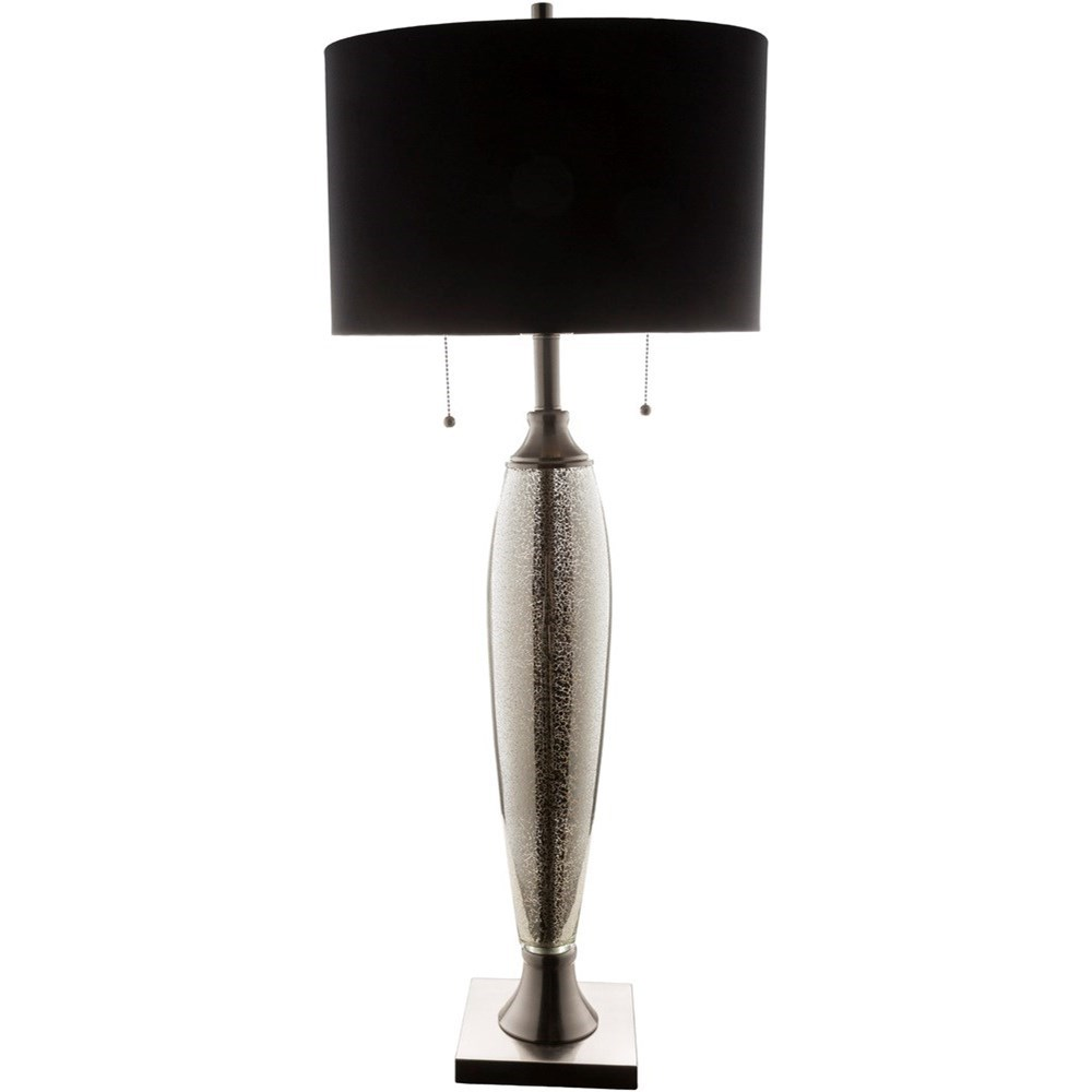 Mercury Glass Glam Table Lamp