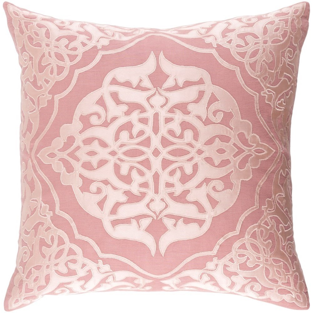 Surya Adelia 18 x 18 x 4 Polyester Throw Pillow - Item Number: ADI002-1818P