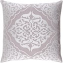 Surya Adelia 18 x 18 x 4 Polyester Throw Pillow - Item Number: ADI003-1818P