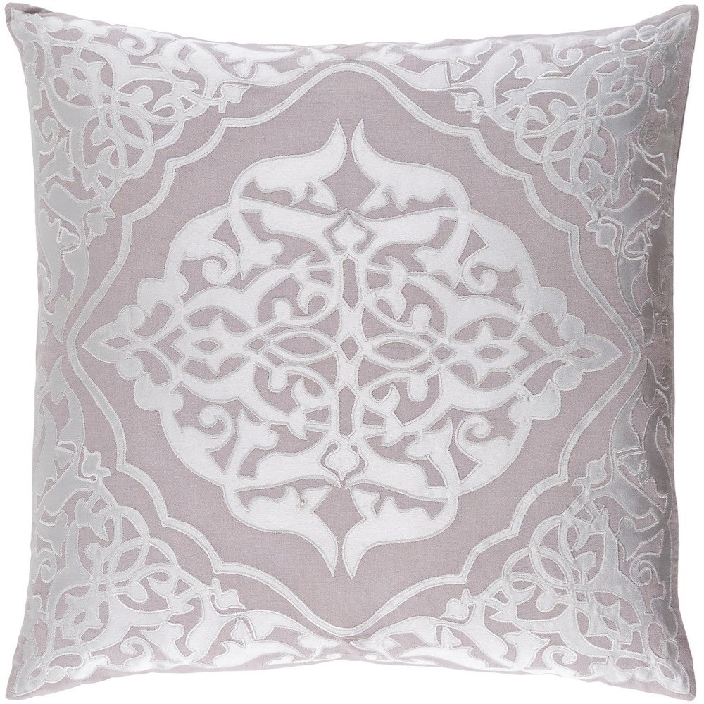 Adelia 22 x 22 x 5 Polyester Throw Pillow by Surya at Houston's Yuma Furniture