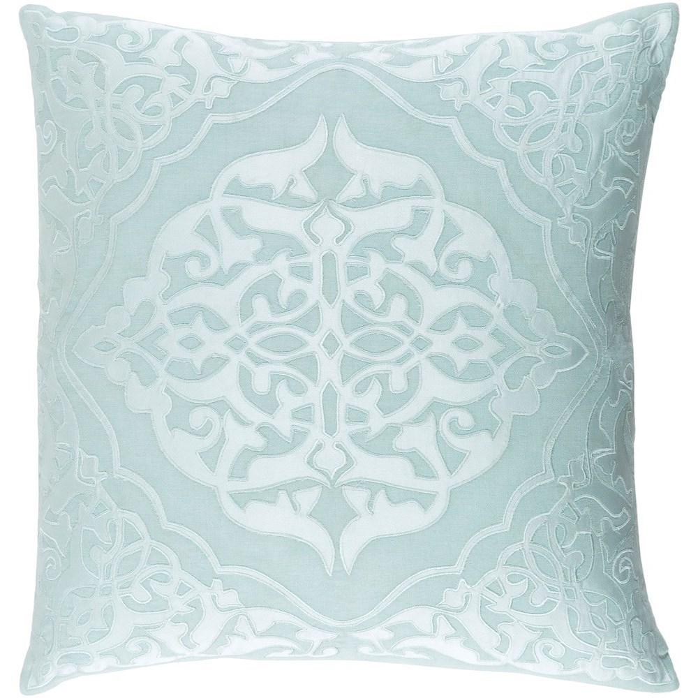Surya Adelia 22 x 22 x 5 Down Throw Pillow - Item Number: ADI004-2222D