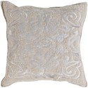 Surya Adeline 22 x 22 x 5 Polyester Throw Pillow - Item Number: AD001-2222P