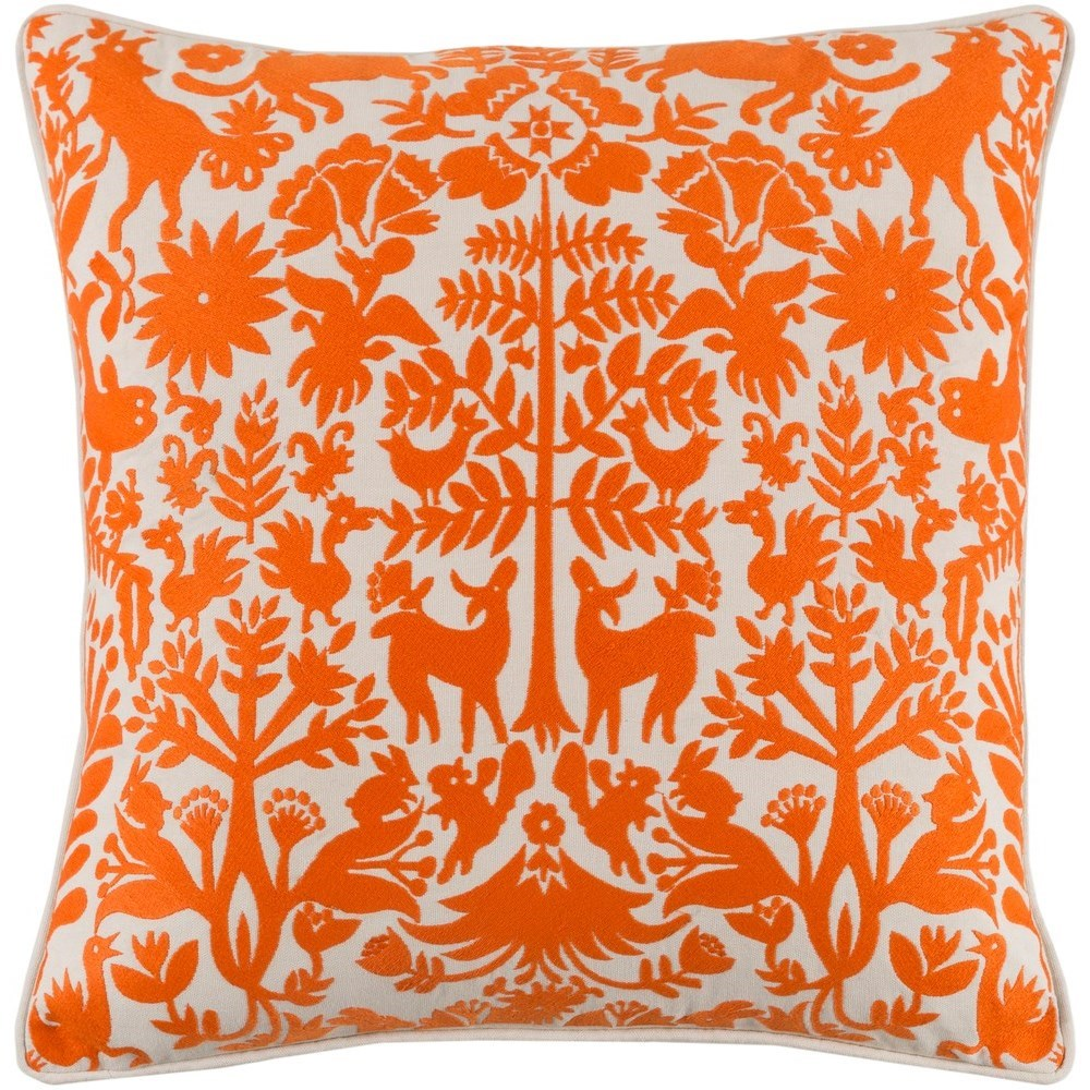 Aiea 20 x 20 x 4 Polyester Pillow Kit by Surya at Fashion Furniture