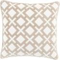 Surya Alexandria 22 x 22 x 5 Down Throw Pillow - Item Number: AX002-2222D