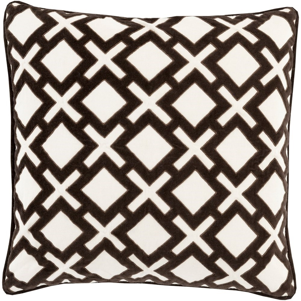 Alexandria 18 x 18 x 4 Down Throw Pillow by Ruby-Gordon Accents at Ruby Gordon Home