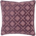 Surya Alexandria 20 x 20 x 4 Down Throw Pillow - Item Number: AX004-2020D