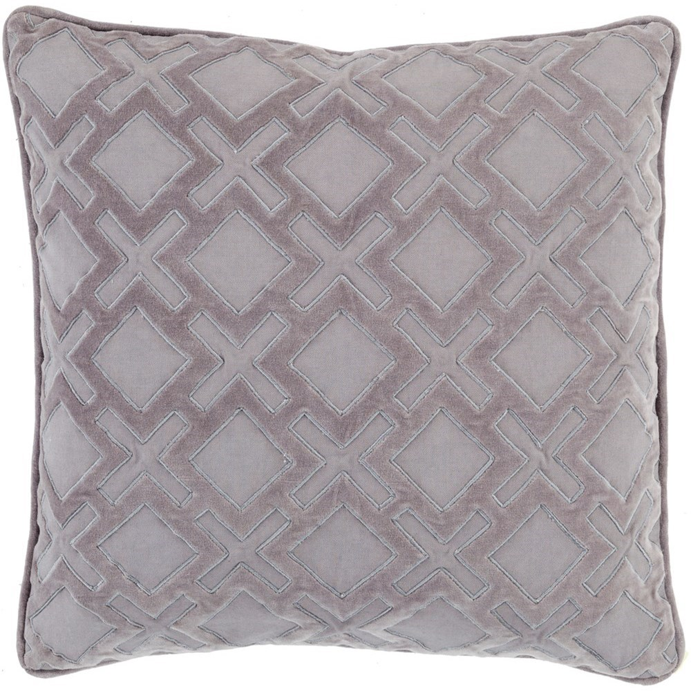Alexandria 20 x 20 x 4 Down Throw Pillow by Surya at Del Sol Furniture