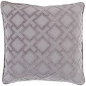 Surya Alexandria 20 x 20 x 4 Down Throw Pillow - Item Number: AX005-2020D