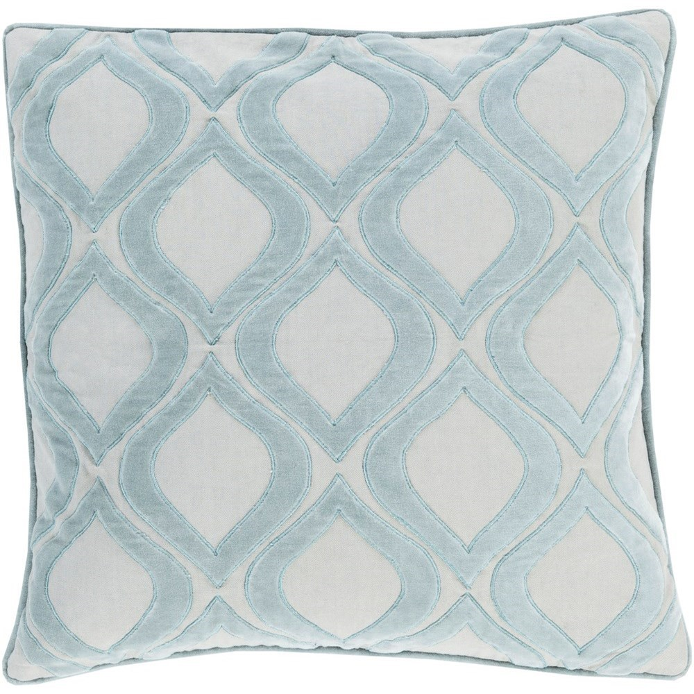 Alexandria 18 x 18 x 4 Down Throw Pillow by Surya at Fashion Furniture