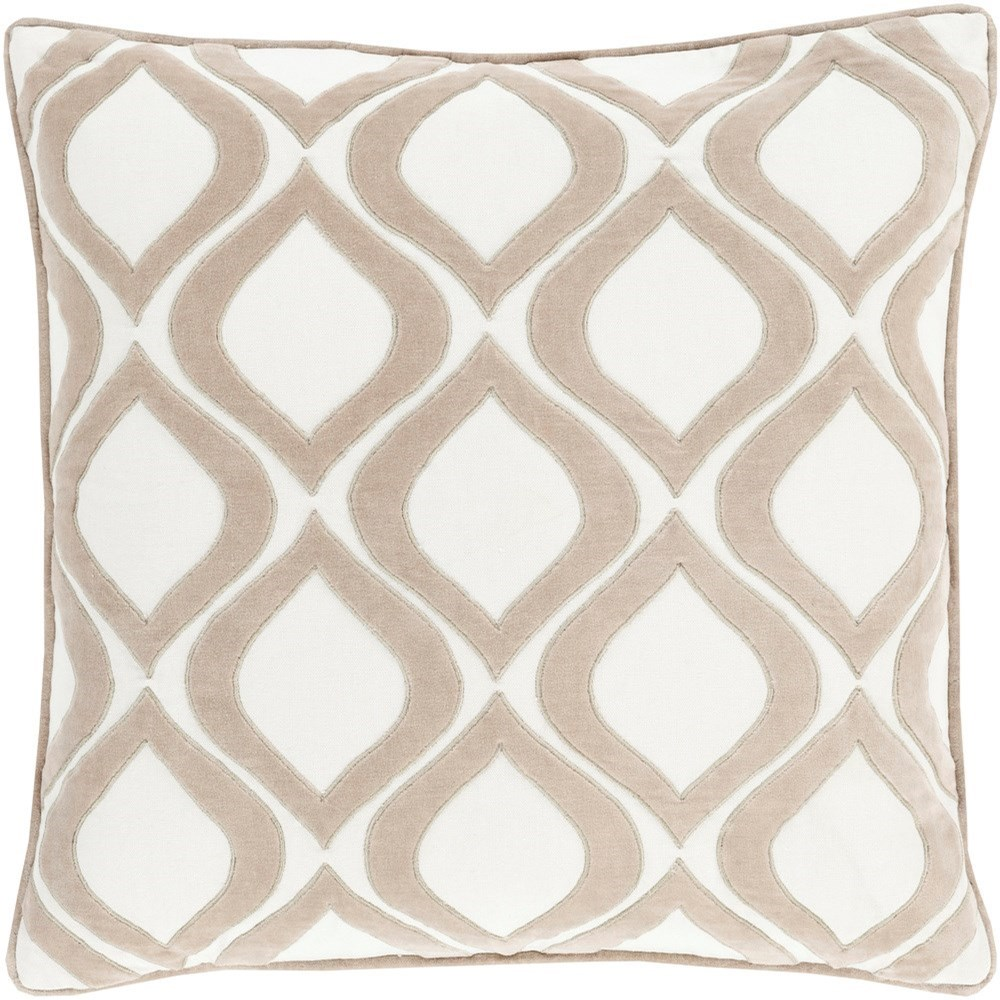 Alexandria 22 x 22 x 5 Down Throw Pillow by Ruby-Gordon Accents at Ruby Gordon Home