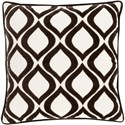 Ruby-Gordon Accents Alexandria 18 x 18 x 4 Down Throw Pillow - Item Number: AX008-1818D