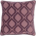 Surya Alexandria 18 x 18 x 4 Down Throw Pillow - Item Number: AX009-1818D