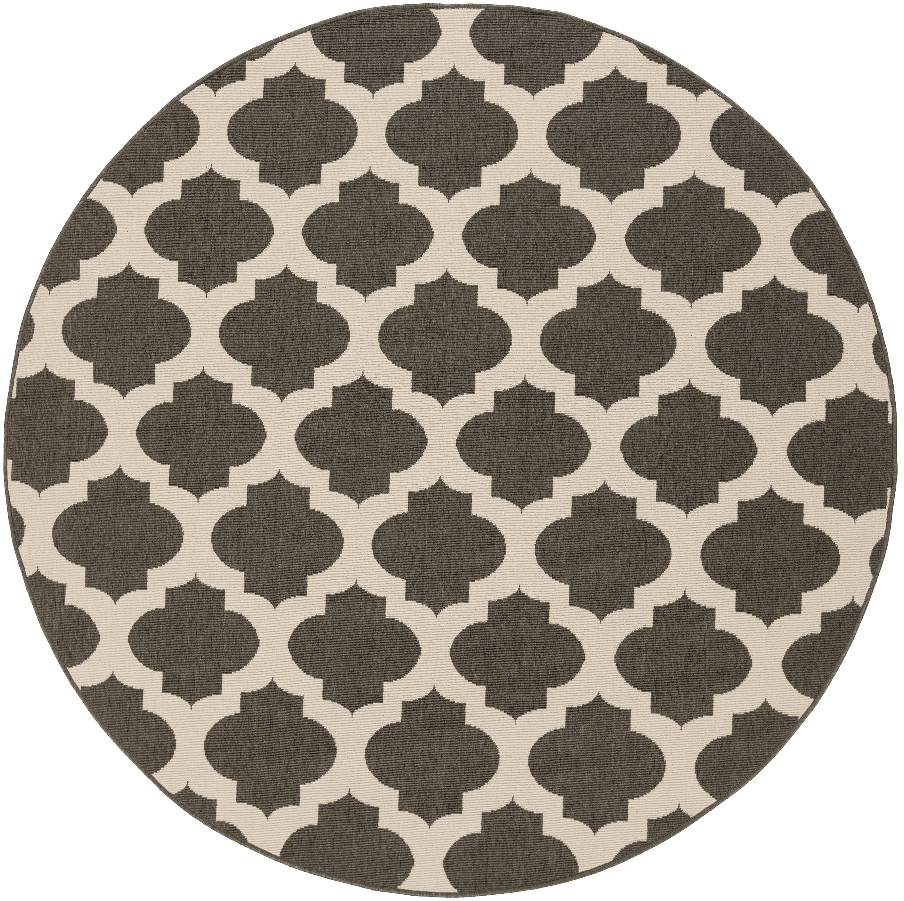"Surya Rugs Alfresco 5'3"" Round - Item Number: ALF9584-53RD"