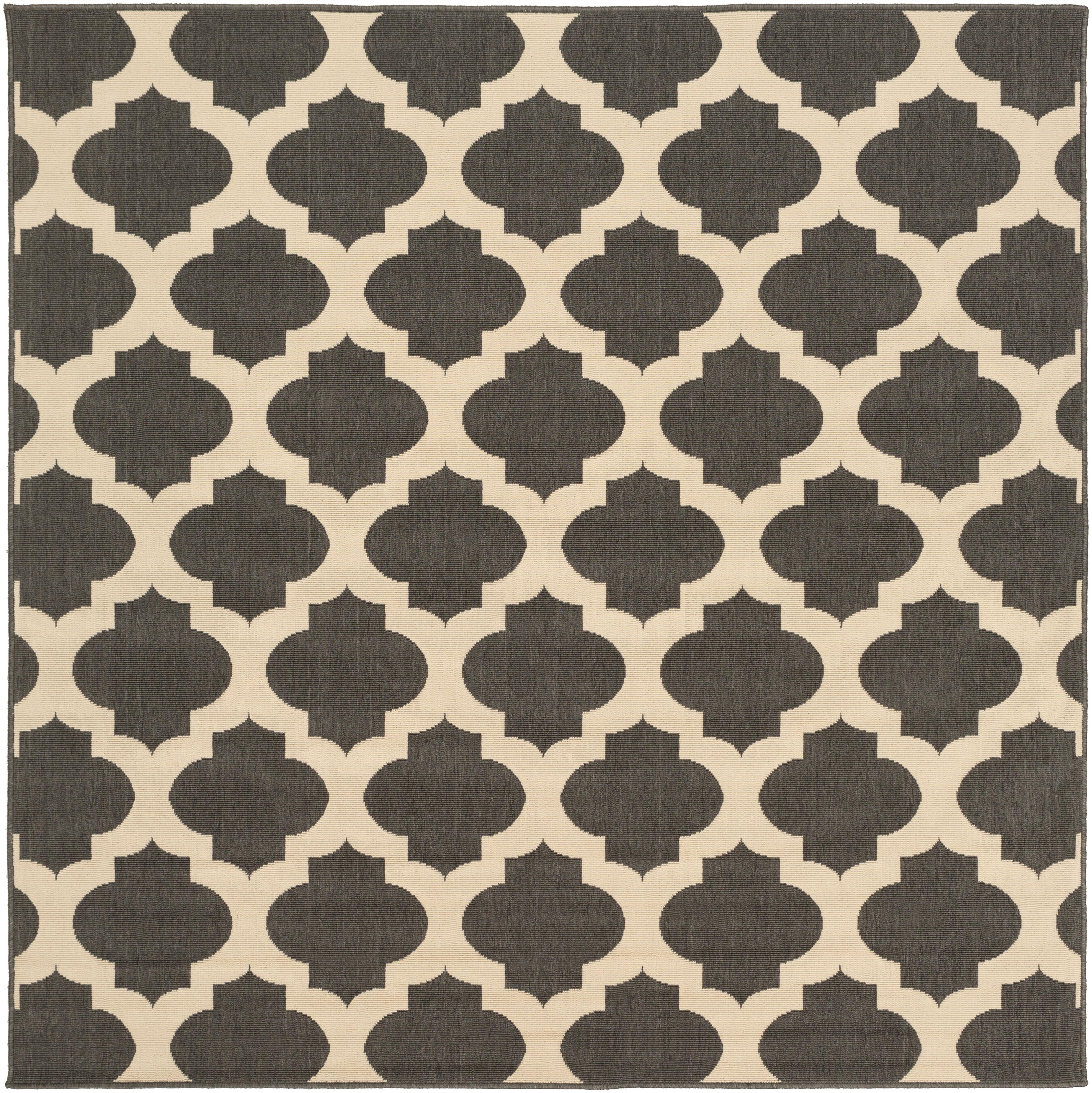 "Surya Rugs Alfresco 7'3"" Square - Item Number: ALF9584-73SQ"