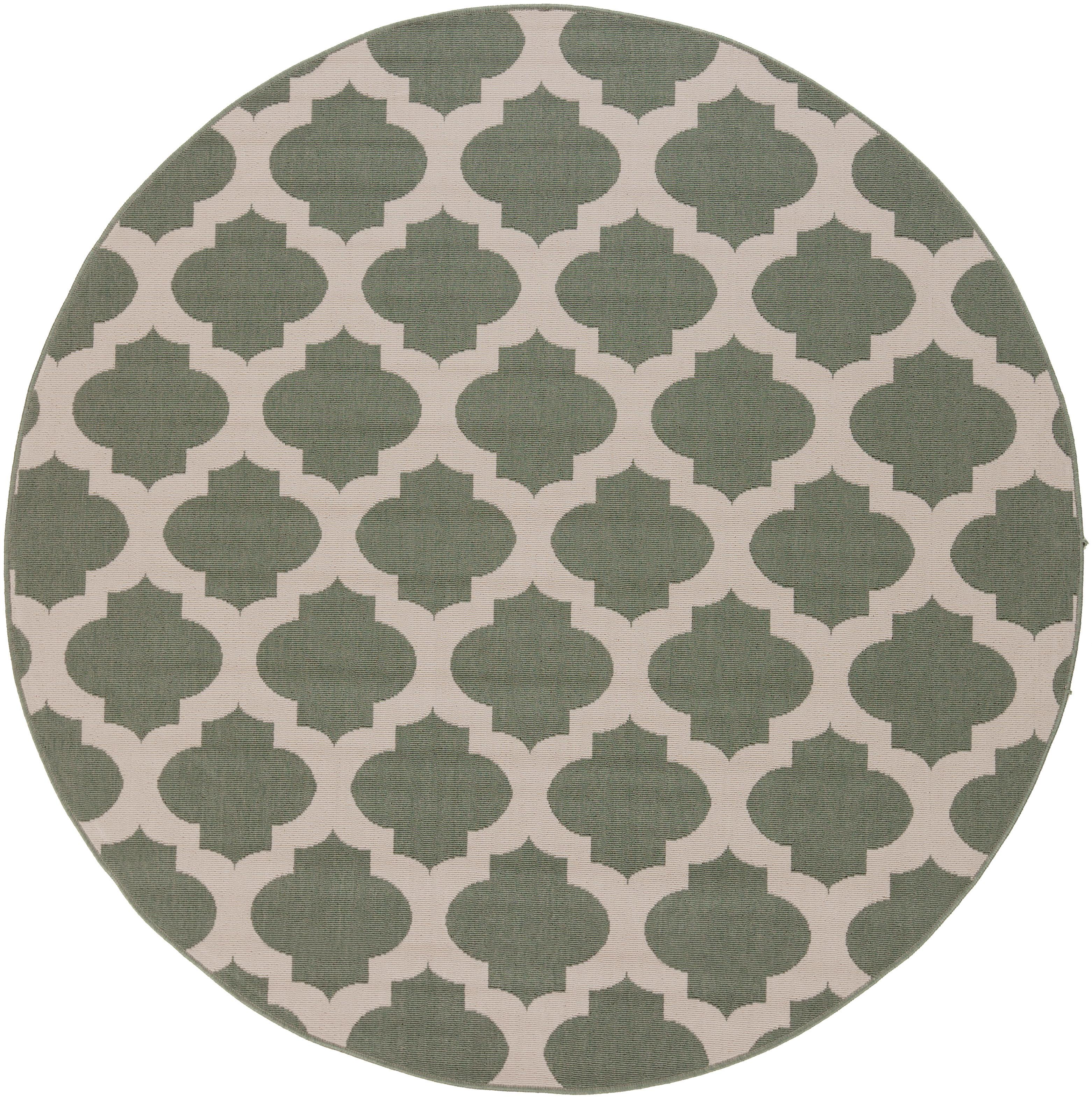 "Surya Alfresco 5'3"" Round - Item Number: ALF9585-53RD"
