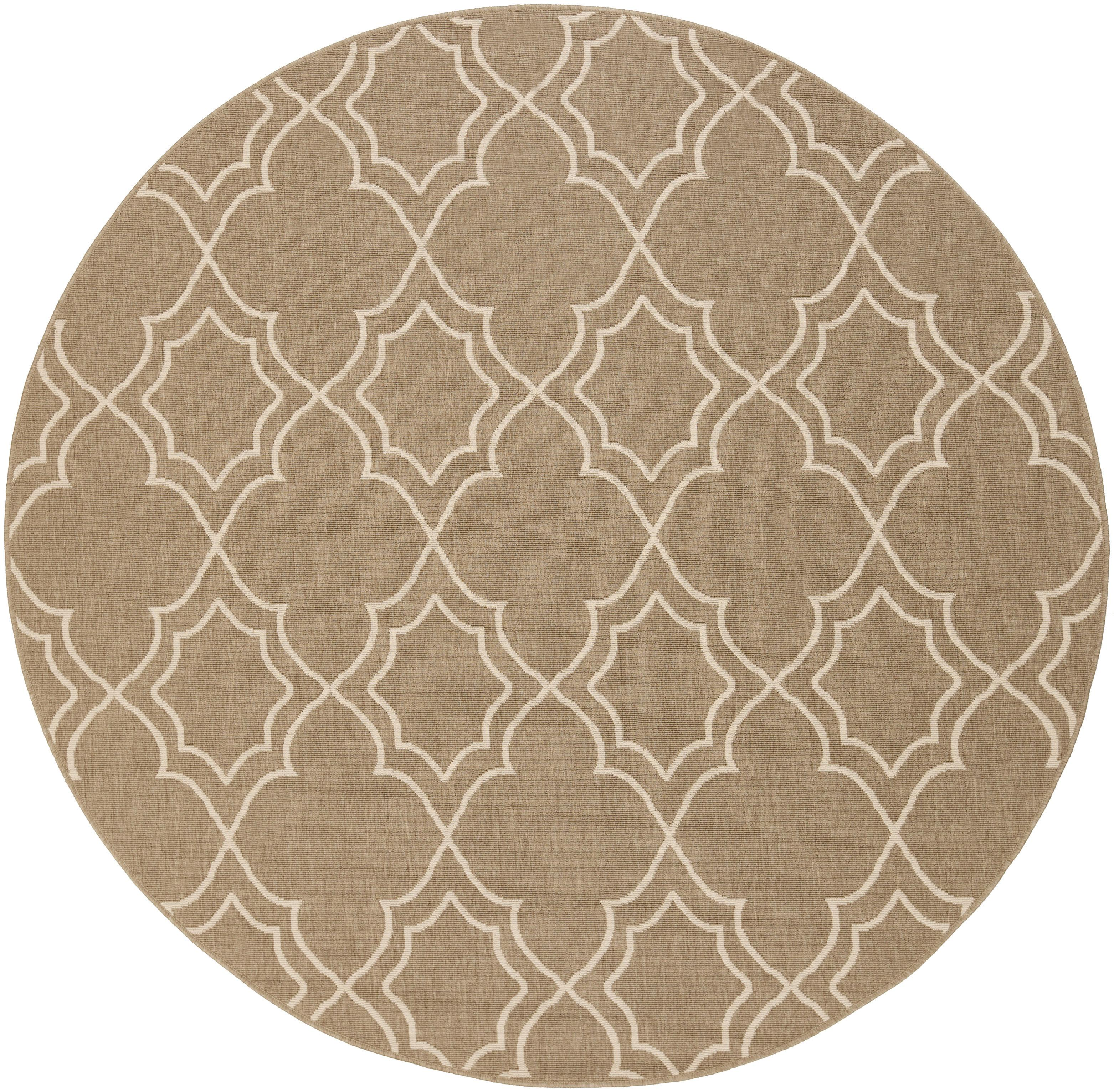 "Surya Rugs Alfresco 8'9"" Round - Item Number: ALF9587-89RD"