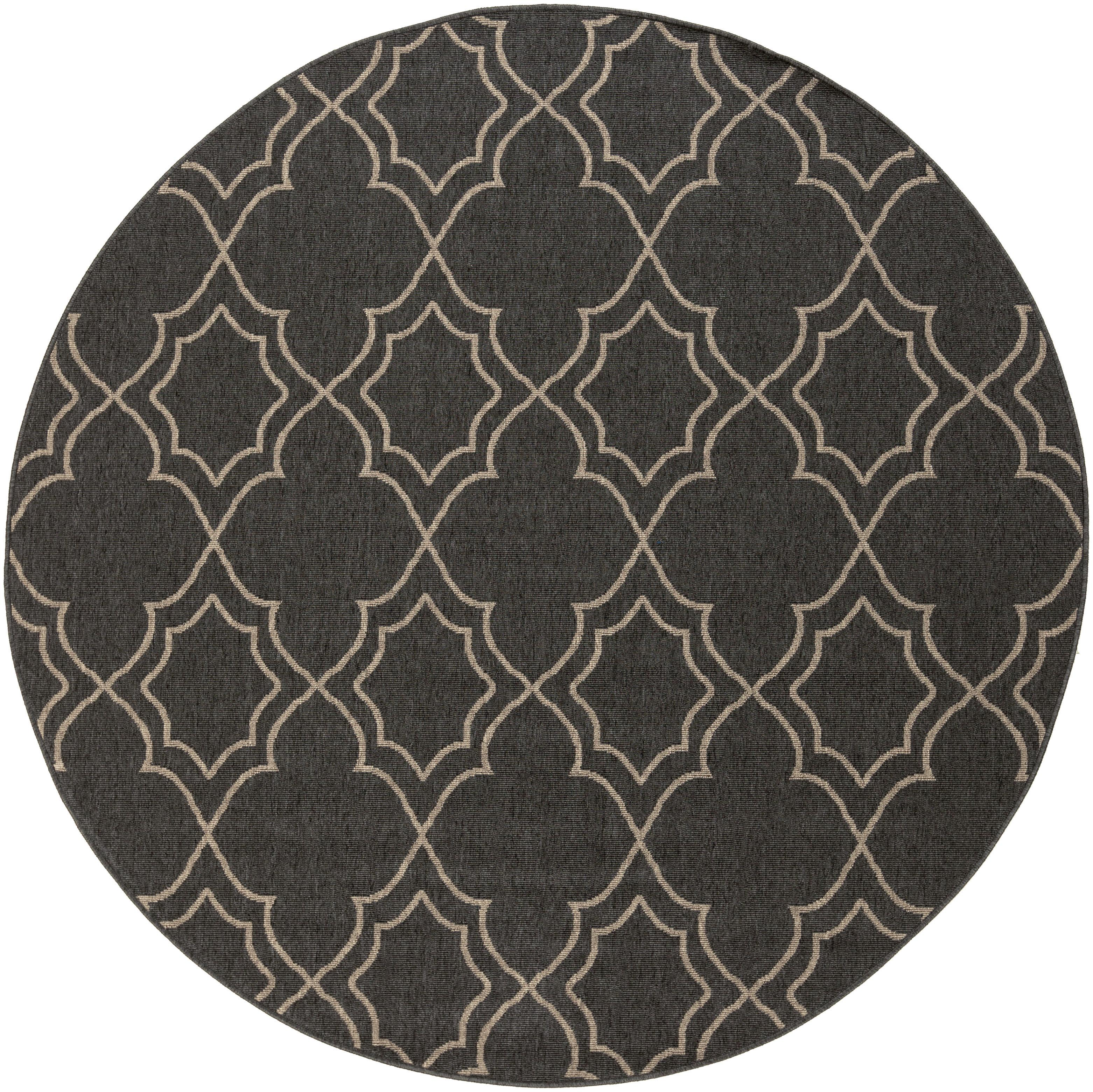 "Surya Alfresco 5'3"" Round - Item Number: ALF9590-53RD"