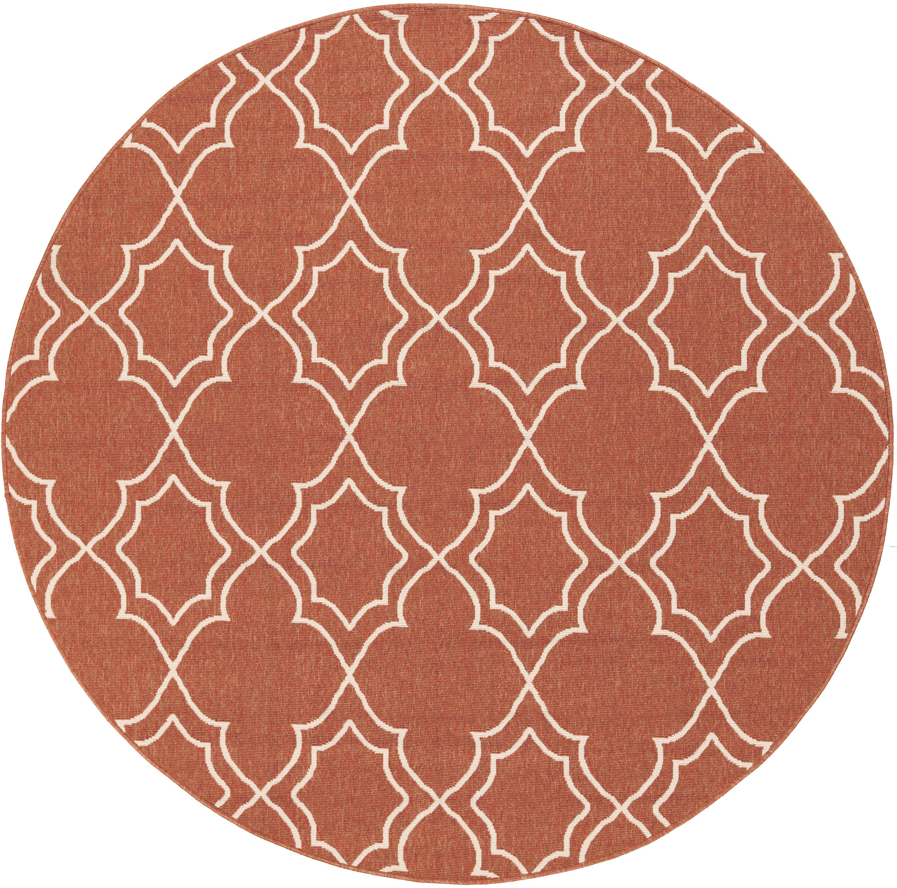 "Surya Alfresco 7'3"" Round - Item Number: ALF9591-73RD"
