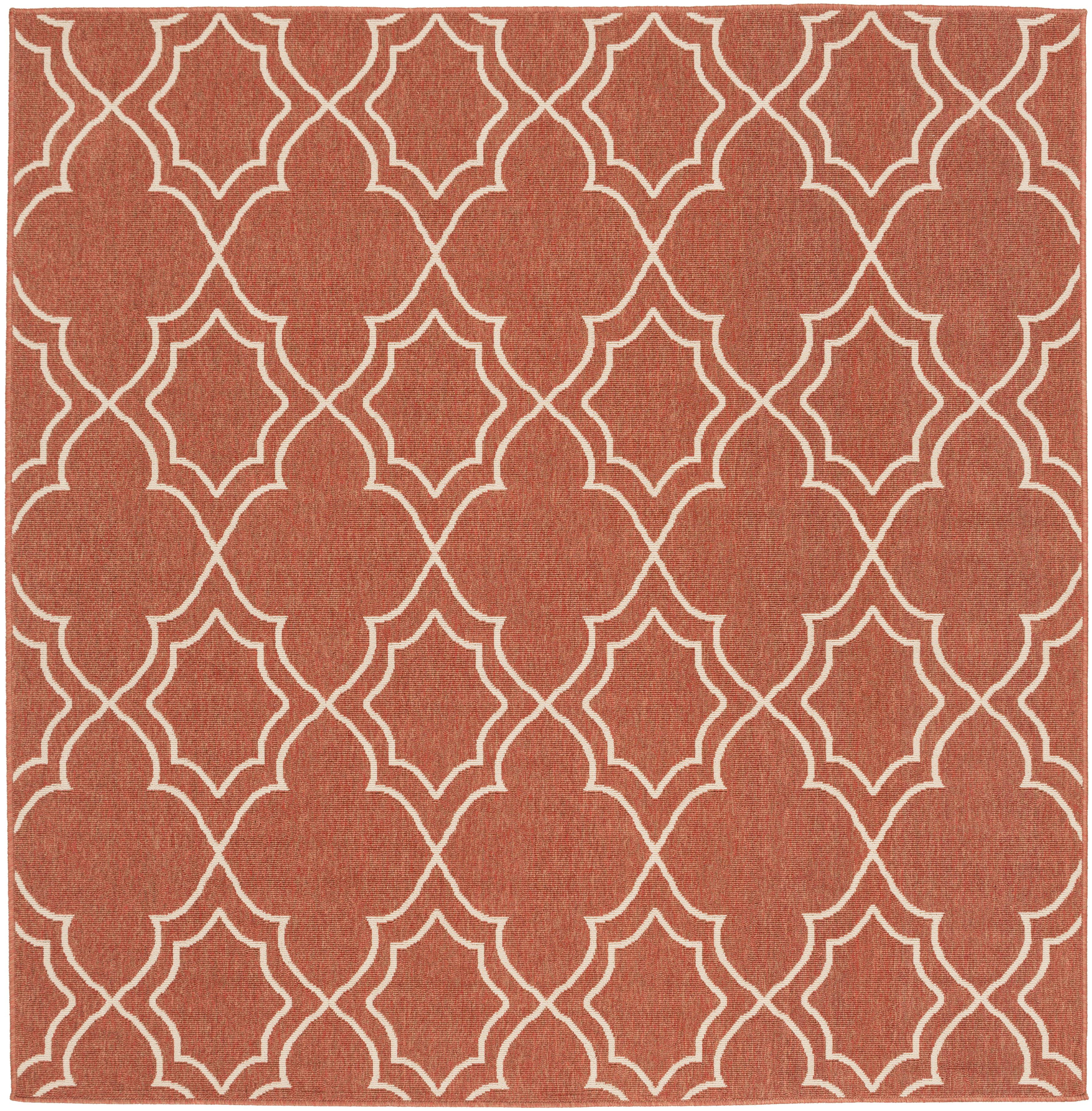 "Surya Alfresco 7'3"" Square - Item Number: ALF9591-73SQ"