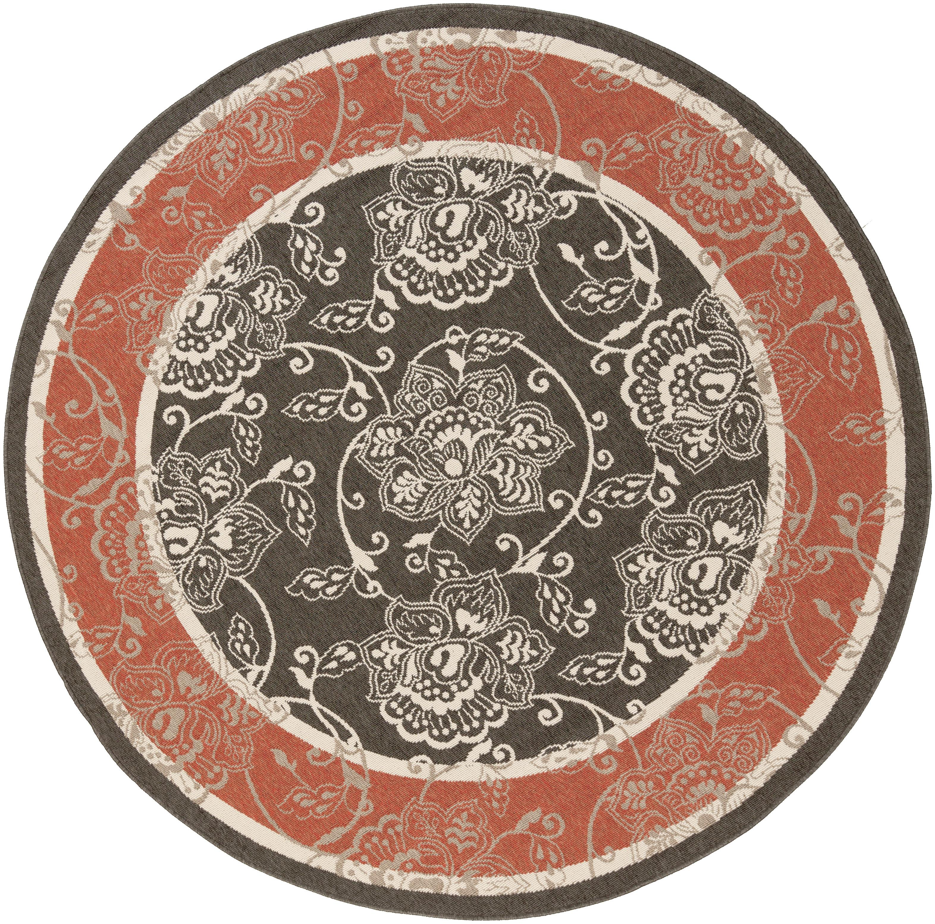 "Surya Rugs Alfresco 8'9"" Round - Item Number: ALF9592-89RD"