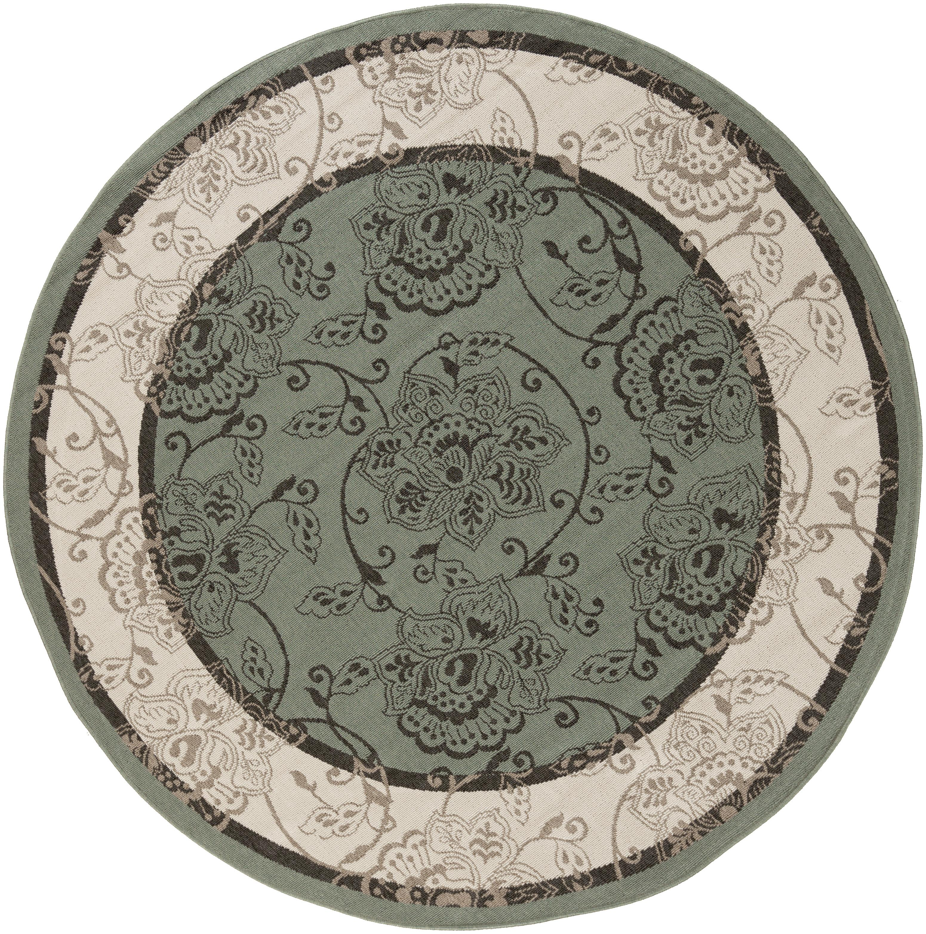 "Surya Alfresco 8'9"" Round - Item Number: ALF9594-89RD"