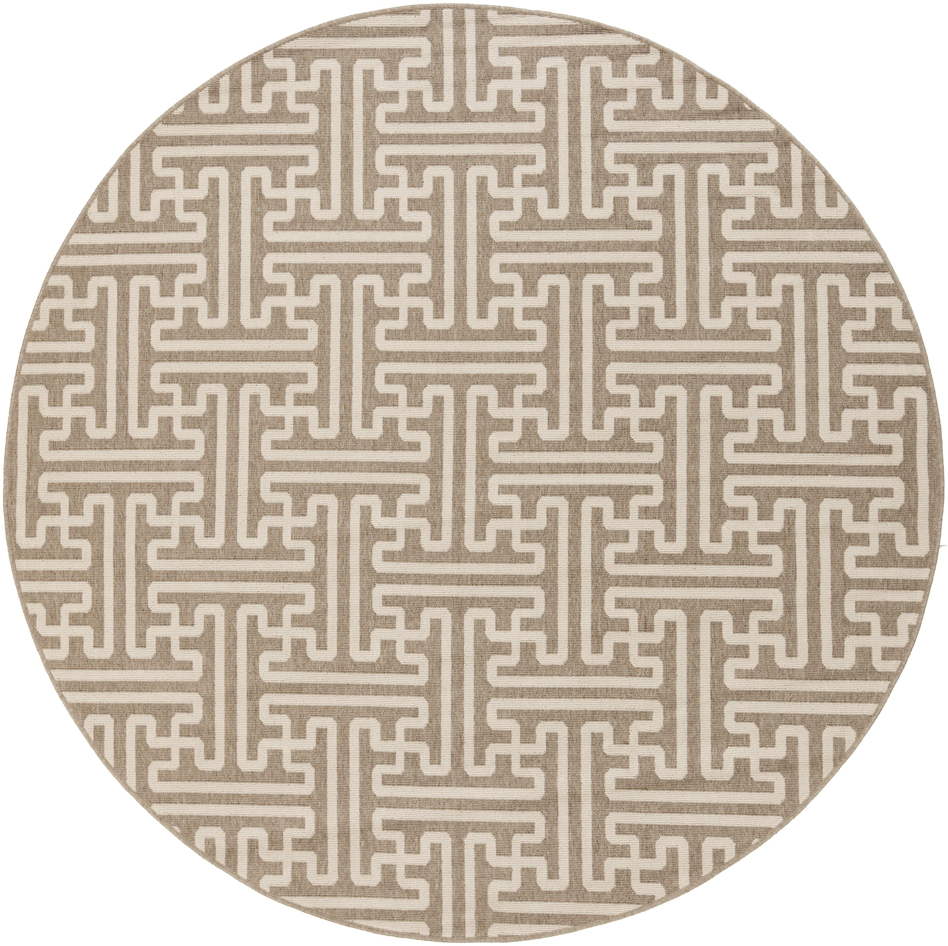 "Surya Rugs Alfresco 5'3"" Round - Item Number: ALF9599-53RD"
