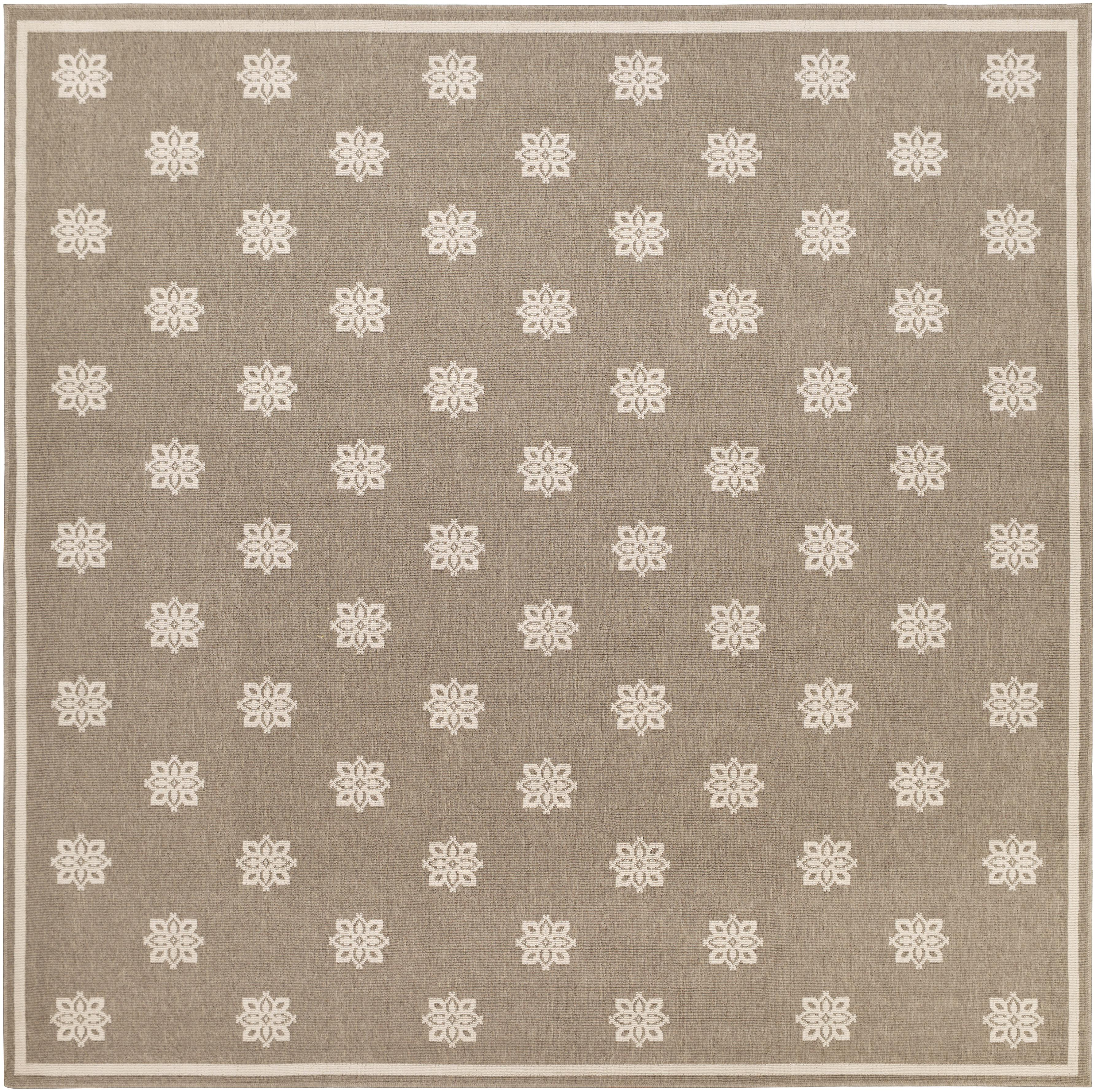 "Surya Alfresco 8'9"" Square - Item Number: ALF9607-89SQ"