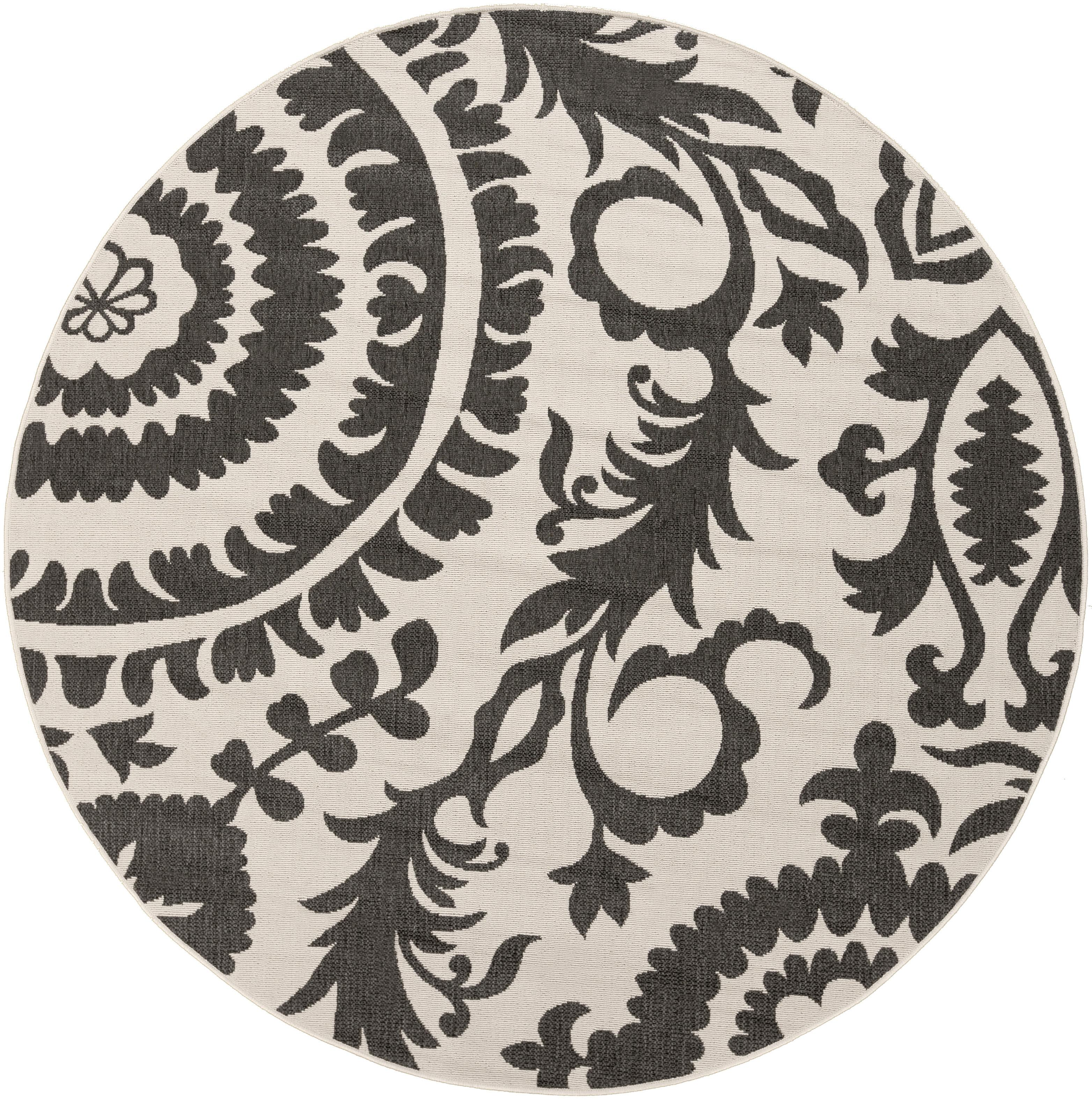 "Surya Alfresco 8'9"" Round - Item Number: ALF9612-89RD"