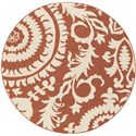 "Surya Rugs Alfresco 8'9"" Round - Item Number: ALF9613-89RD"