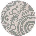 "Surya Alfresco 7'3"" Round - Item Number: ALF9614-73RD"