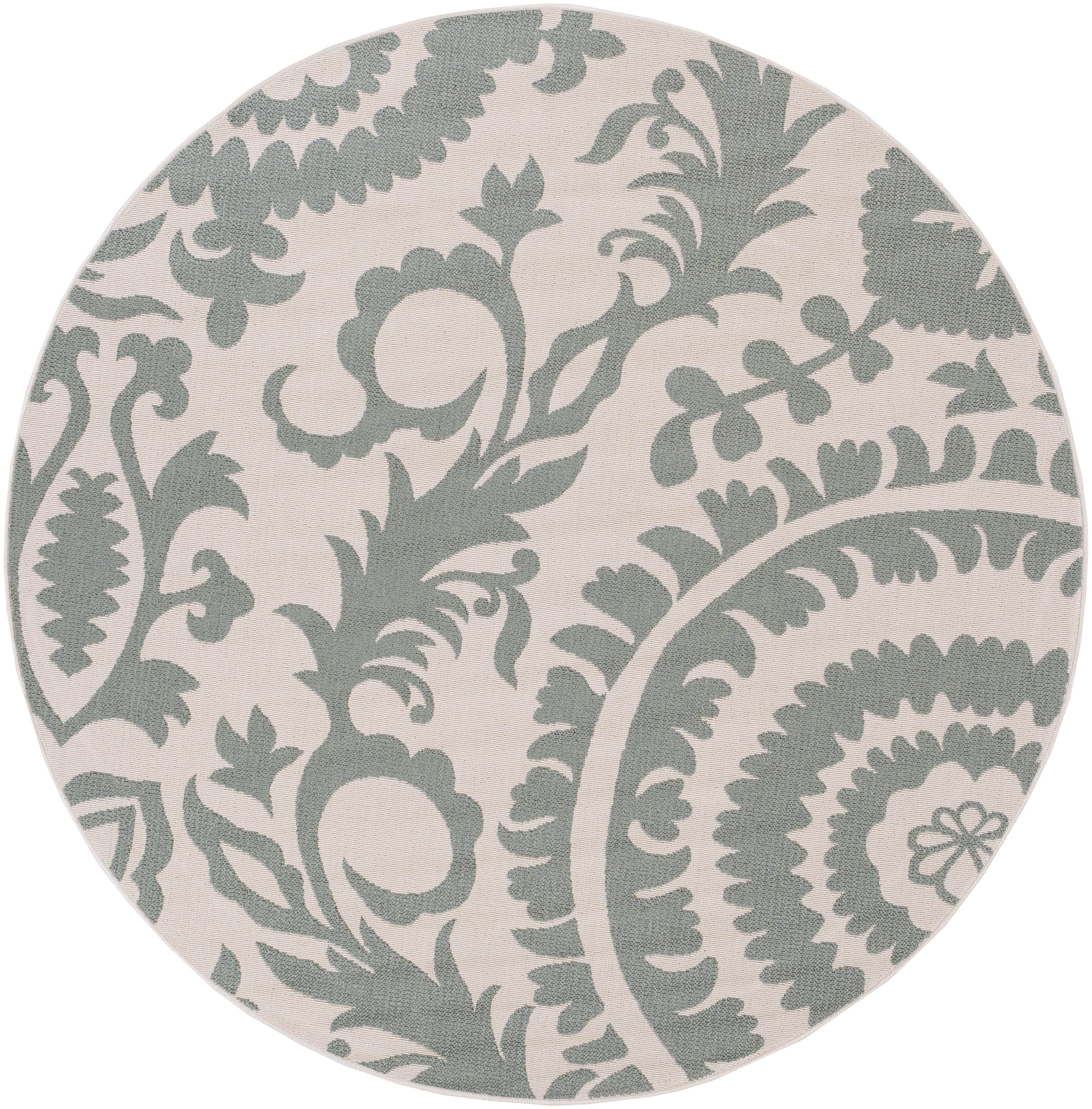 "Surya Alfresco 8'9"" Round - Item Number: ALF9614-89RD"
