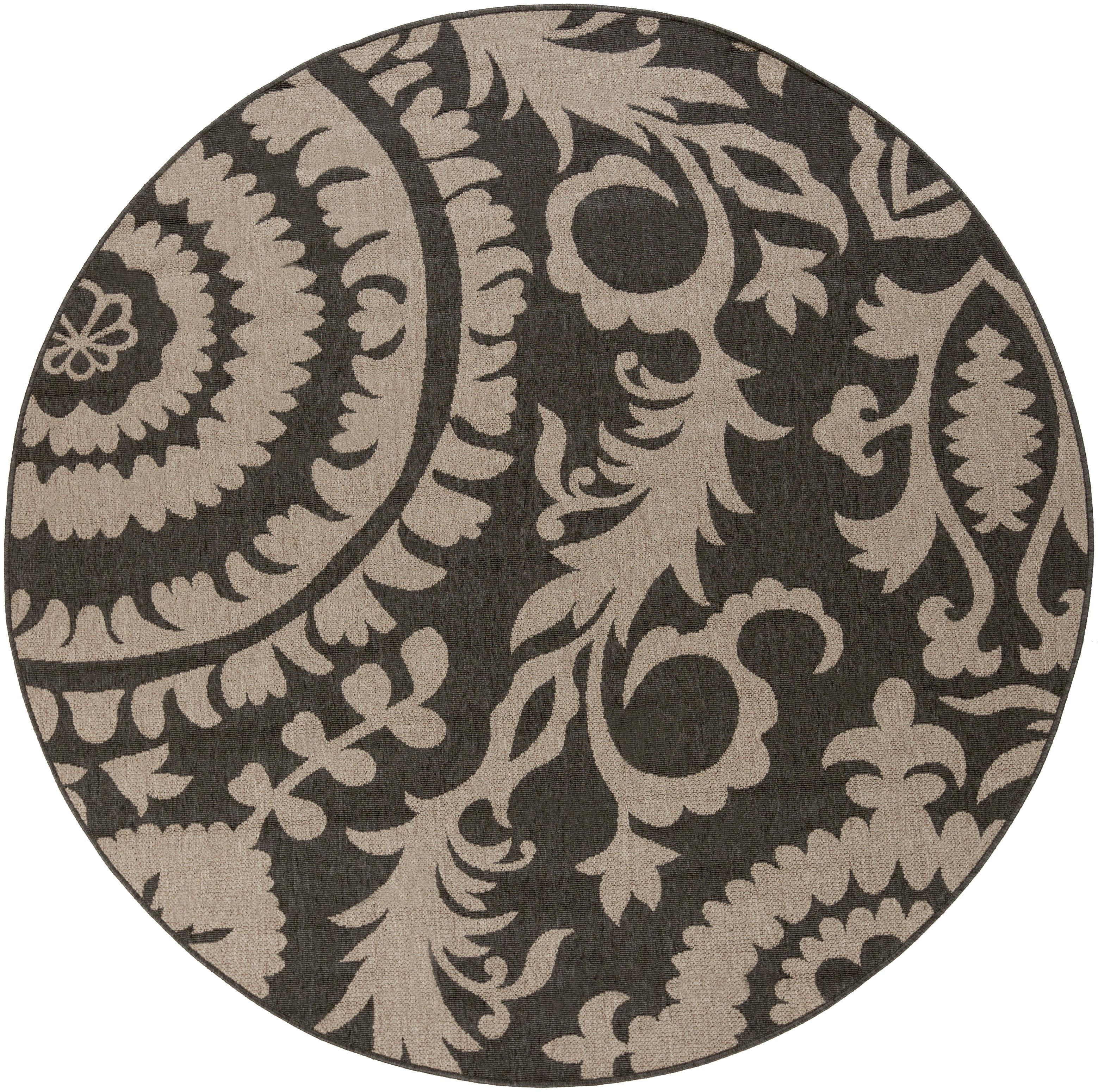 "Surya Alfresco 5'3"" Round - Item Number: ALF9615-53RD"