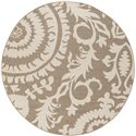 "Surya Alfresco 7'3"" Round - Item Number: ALF9616-73RD"