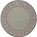 "Surya Rugs Alfresco 7'3"" Round - Item Number: ALF9625-73RD"