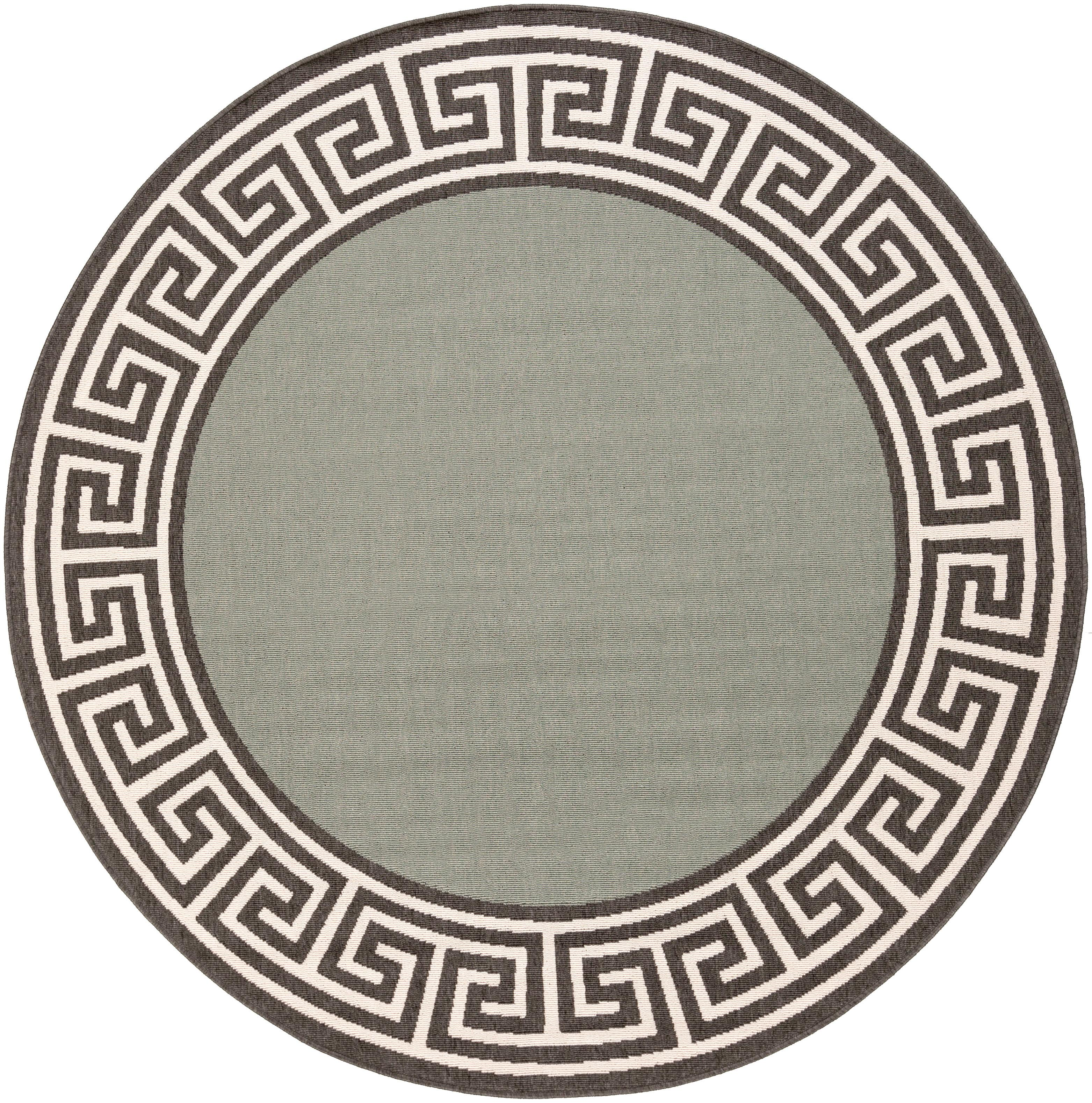 "Surya Alfresco 8'9"" Round - Item Number: ALF9625-89RD"