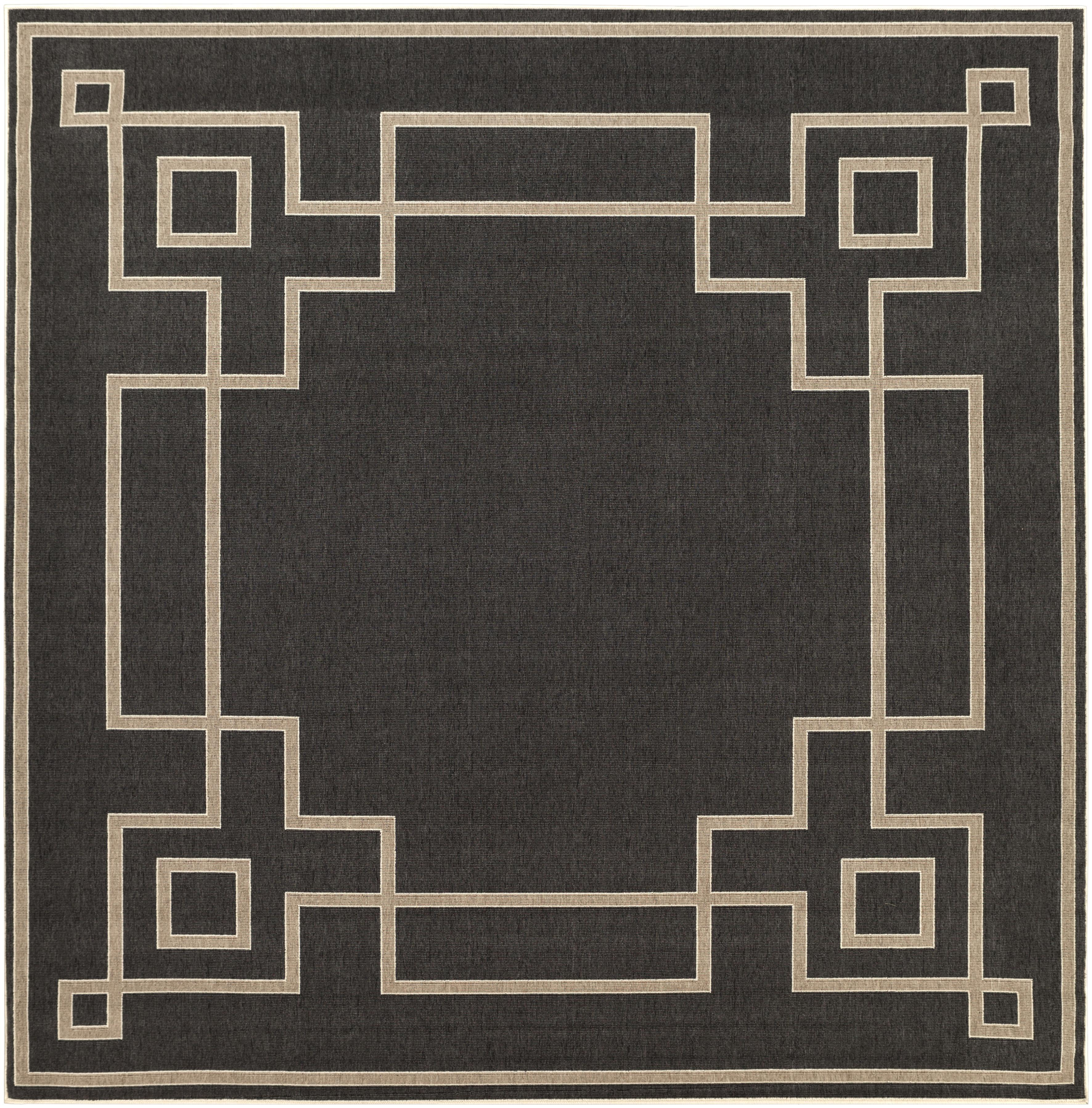 "Surya Alfresco 8'9"" Square - Item Number: ALF9630-89SQ"